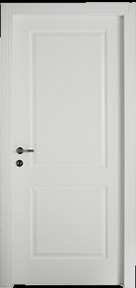 דלת פנים חריצים דגם רטרו