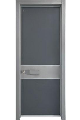 דלת כניסה דגם לאם גריי