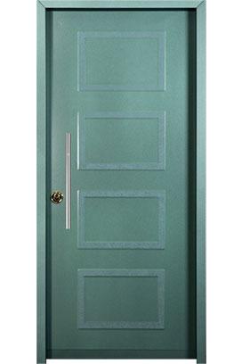 דלת כניסה דגם ריבועים